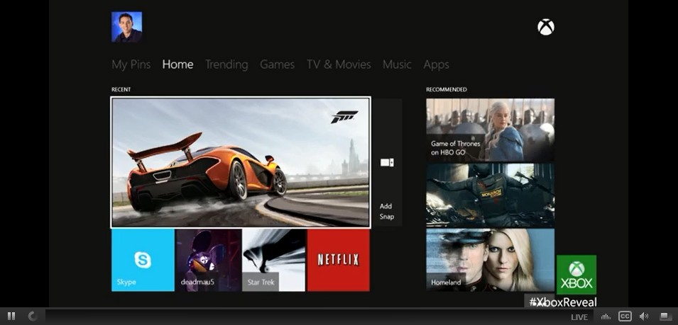 how to watch movies on xbox one